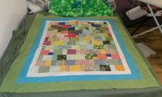 The Chemo quilt I'm making for my aunt.