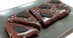 ΥΛΙΚΑ ΓΙΑ ΤΗ ΒΑΣΗ 300 γραμμάρια μπισκότα OREO 1/2 κούπα βούτυρο ΥΛΙΚΑ ΓΙΑ ΤΗΝ ΚΡΕΜΑ 1 συσκευασία κουβερτούρα γάλακτος (170 γραμμάρια) 15...