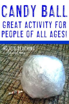 Are you looking for a fun & engaging activity for your classroom? This candy ball will be a blast for a holiday party, end of year, or others! 5th Grade Classroom, Middle School Classroom, Geek Birthday, 30th Birthday, 21st Birthday Checklist, Reading Recovery, Ell Students, Holidays Around The World, Middle Schoolers