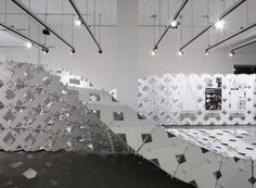 "Kais AL-RAWI, Marie BOLTENSTERN, & Julia KOERNER, ""Cellular Complexity."" Photo: ©AIAILA/Ryan GOBUTY."
