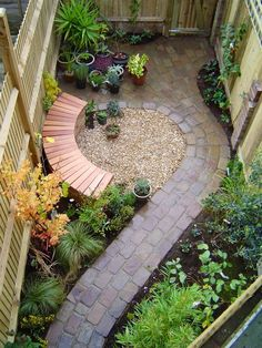 This would be a good idea for a narrow side yard area.
