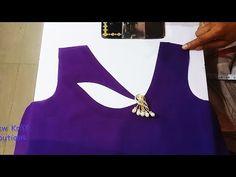 Latest Neck Designs // Creative Suit Neck Design // Neck Design For Ladies Suit Chudi Neck Designs, Neck Designs For Suits, Sleeves Designs For Dresses, Fancy Blouse Designs, Dress Neck Designs, Sleeve Designs, Churidar Neck Designs, Kurta Neck Design, Kurta Designs Women