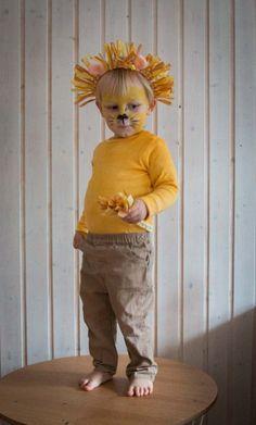 My lions - a last minute costume for children Ichsowirso .- Meine Löwen- ein last minute Kostüm für Kinder Abc Party Costumes, Circus Costume, Cute Costumes, Baby Costumes, Last Minute Kostüm, Caleb, Last Minute Costumes, Homemade Costumes, Safari Party