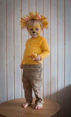 My lions - a last minute costume for children Ichsowirso .- Meine Löwen- ein last minute Kostüm für Kinder Abc Party Costumes, Circus Costume, Baby Costumes, Last Minute Diy Costumes, Homemade Costumes, Safari Party, Diy For Kids, Lions, Dress Up