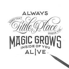 Beautiful words by @novia_jonatan - #typegang - free fonts at typegang.com | typegang.com #typegang #typography