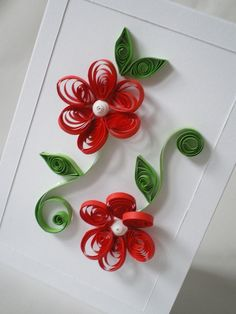 Quilling Flowers.♥..¸¸.•♥•