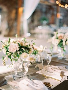Spring Wedding table detail