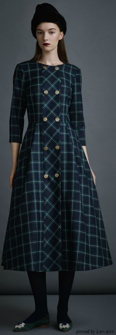 A La Russe Pre-Fall 2014 love this plaid for other than Christmas