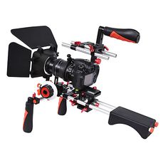 YELANGU DSLR Movie Video Making Rig Set System Kit for Camcorder or DSLR Camera Such as Canon Nikon Sony Pentax Fujifilm Panasonic 2017 - $135.84