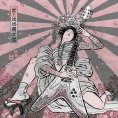 ポップな中に和のテイストを感じさせるイラストレーター『YUKO SHIMIZU』の世界 - K'conf
