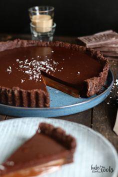 Baileys Karamell Schokoladentarte