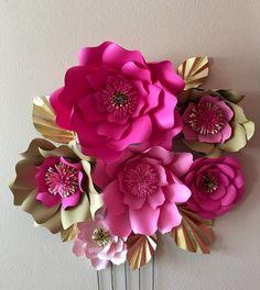 6 Kate Spade inspirado gigante de flores en por spikedwithglitter