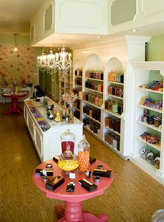 "I would LOVE to own a Sweet Shop like this...""Heather's Candy Bar"""