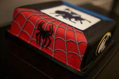 Super hero groom's cake