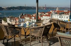 Hotel Bairro Alto is a luxury boutique hotel in Lisbon, Portugal. Book Hotel Bairro Alto on Splendia and benefit from exclusive special offers ! Hotel Rooftop Bar, Best Rooftop Bars, Spas, Hotels And Resorts, Best Hotels, Restaurants, Rooftop Restaurant, Europe, Destination Voyage
