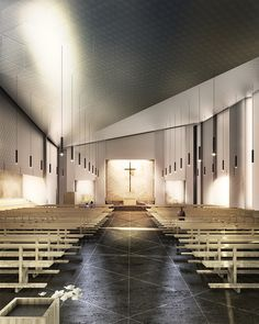 Gallery - Tomas Ghisellini Architects Reveals Cinisi Church Competition Entry - 2