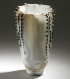 """Jane Reumert - woodfired porcelain, """"Feather"""""""