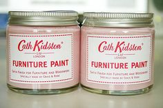 Cath Kidston pink paint