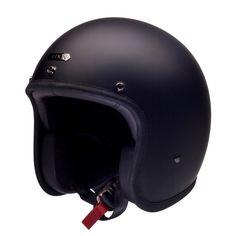 Jet helmet Hedonist Coal - Hedon - The perfect helmet on your vintage  motorcycle ! 6150c062af25