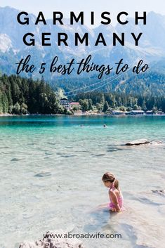 5 Best Things to Do Near Garmisch Garmisch-Partenkirchen, Germany has so much to offer no matter what time of year you visit! Come see the best things to do in the area with or without kids! Cities In Germany, Visit Germany, Germany Travel, Travel With Kids, Family Travel, Cool Places To Visit, Places To Travel, Travel Destinations, Holidays Germany