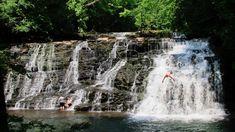 Best Swimming, Swimming Holes, Fall Creek Falls Tennessee, Rutledge Falls, Rock Island State Park, Tennessee Waterfalls, Falls Creek, East Tennessee, Nashville Tennessee