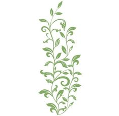 RoomMates Leaf Scroll Peel and Stick Wall Decals, Green Clouds Nursery, Nursery Room, Green Leaves, Plant Leaves, Simple Wall Art, Easy Wall, Kids Wall Decals, Scroll Design, Door Wall