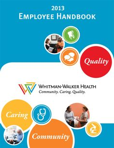 Pin employee handbook cover on pinterest for Employee handbook cover design template