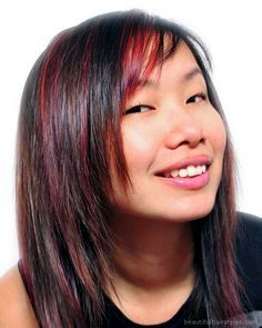 red and black hair - Google Search