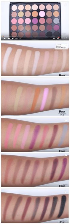 Morphe Brushes 35N Palette (Swatches) by MakeupByDianis