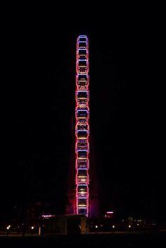 Ferris wheel / Óriáskerék Ferris Wheel, My Photos, Fair Grounds, Neon Signs, Fun, Photography, Photograph, Fotografie, Photo Shoot