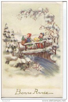 Postcards > Topics > Holidays & Celebrations > New year - Delcampe.net