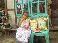 Sunflower Association: Elisa Butti helps Eva Theofilia Evata Bambumgan