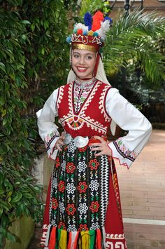 Folklore Dress from Bulgaria #mycountry