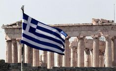 The Greek flag is more than just an official state flag. Let's find out the meaning behind the beautiful colours and the desing of the Greek flag! Places To See, Places Ive Been, Greek Flag, Cradle Of Civilization, Parthenon, Paros, Ancient Greece, Greek Islands, Vacation Destinations