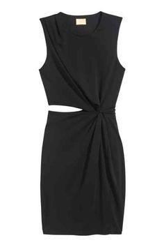 Drapowana sukienka