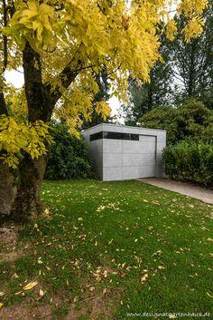 Deisgn Gartenhaus by design@garten, Augsburg | Sichtbetont #HPL-Fassade - niemals streichen