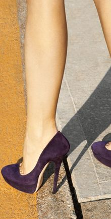 Jimmy Choo in Purple.. please mom they are only $700