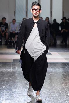 Yohji Yamamoto | Spring 2013 Menswear Collection | Style.com