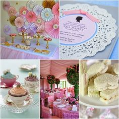 Tea Party Sweet Fifteen Theme #quinceanera