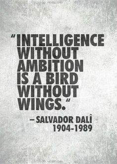 #dali definitivamente tipo de palabras que me inspiran a seguir !