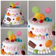 Torta caramelos