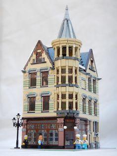 [MOC] Leiden restaurant [modular building] - LEGO Town - Eurobricks Forums