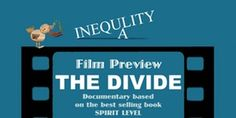 """Free event in Maryhill this Sun, a screening of """"The Divide"""" & an #EvenItUp discussion about global/local inequality http://eventbrite.co.uk/e/tackling-inequality-tickets-19040489617"""