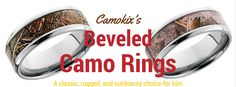 There's nothing more he'd love than camo rings made with the best and toughest alternative metals. Camo Wedding Rings, Camo Rings, Wedding Bands, Alternative Metal, Country Boys, Metals, Engagement Rings, Jewelry, Enagement Rings