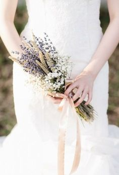 Prettiest Small Wedding Bouquets to Have and to Hold ★ See more: www.weddingfo… Prettiest Small Wedding Bouquets to Have and to Hold ★ See more: www. Small Wedding Bouquets, Small Bouquet, Wedding Flowers, Levander Wedding, Country Wedding Dresses, Wedding Country, Nontraditional Wedding, Fall Wedding, Diy Wedding