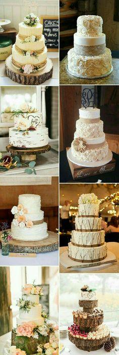 Pasteles de boda ☺