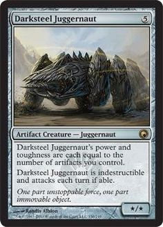 Magic: the Gathering - Darksteel Juggernaut - Scars of Mirrodin by Wizards of…