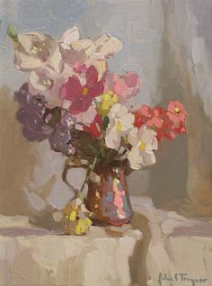 "John C. Traynor (American, born 1961) ""Summer Annuals"""