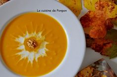 Velouté potiron carotte, Recette Ptitchef Coco, Cantaloupe, Macaroni And Cheese, Curry, Fruit, Ethnic Recipes, Table, Recipes, Carrots