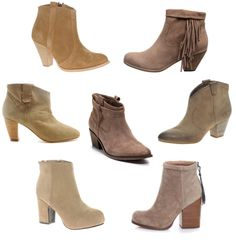 tab/beige/nude suede ankle boots obsession- great with bare legs and summer dresses to add an effortless edgy vibe to all summer outfits.